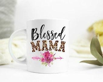 Blessed Mama Coffee Mug