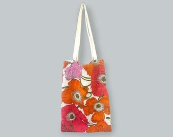 Poppies Linen Bag