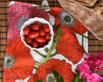 Poppies Kitchen Towel