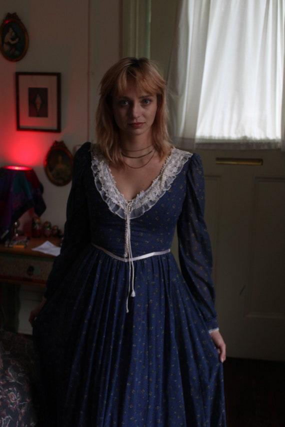 70's Vintage Gunne Sax prairie dress  by Jessica M