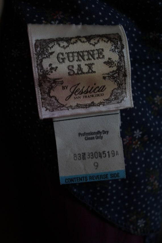 70's Vintage Gunne Sax prairie dress  by Jessica … - image 8