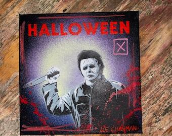 Halloween - original painted canvas