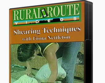 Shearing Techniques with Fiona Nettleton