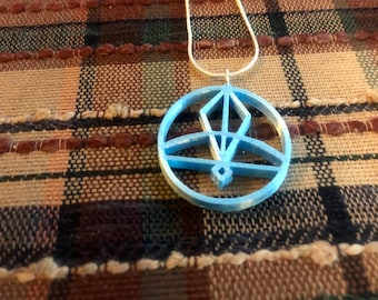 Ice Glyph Necklace