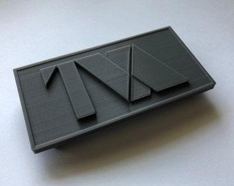 Marvel's Loki 3d Printed TVA Belt Buckle