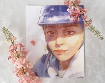 EXO Xiumin Selfie Ver. 3 Fan Art Print