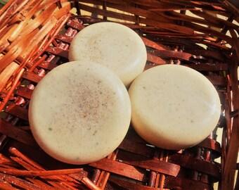 Vanilla Spice Shampoo - Autumn Fall Shampoo Bar - Handmade Spiced Vanilla Solid Shampoo Bar - Natural Vanilla Festive Solid Shampoo