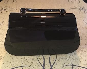 Vintae Style Black Box Bag