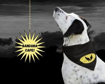 Wolverine Dog Bandana   Dog Superhero Cape Bandana   Halloween Costume for Dog