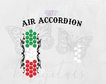 Air Accordion SVG