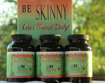 Be Skinny Weight Loss Support System (3 formula Package) w/ Manual