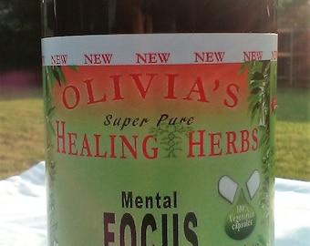 Mental Focus (60ct) - Banju inspired by Dr Sebi