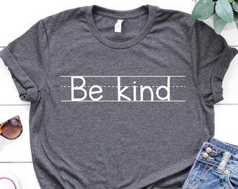 Be Kind Shirt, Kindness Shirt, Love is Kind, Be Kind Sign Language Shirt, Inspirational Shirt, Anti-Racism Shirt, Be Kind Rainbow Shirt