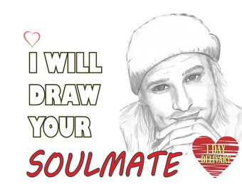 Soulmate Drawing, Psychic drawing, Psychic Reading Same Day, Psychic Lover, Psychic Artist, Draw my soulmate Twin Flame Drawing Soulmate art