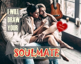 Soulmate psychic drawing, Psychic Soulmate Drawing, Psychic Reading, Psychic Reading Love, Psychic Drawing, Tarot Reading, Astrology Reading
