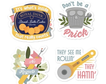 Sewing Sweetly Sticker Pack