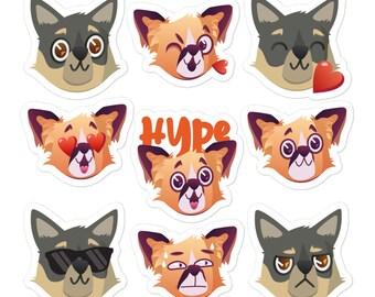 Hugo & Evie Sticker Pack