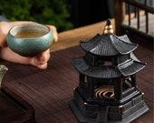 Ceramic Incense Burner Household Indoor Purifying Air Incense Burner Sandalwood Zen Aroma Burner