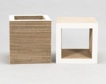 Frank Gehry - Vitra - Side table, Stool (2) - Cubes of the Easy Edge