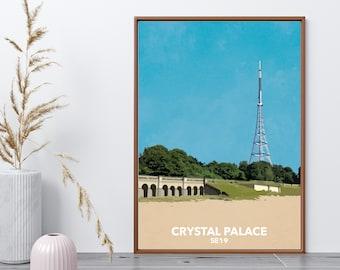 Crystal Palace Park - SE19 - South London local art print