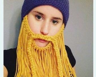 Minnesota Viking Beard hat