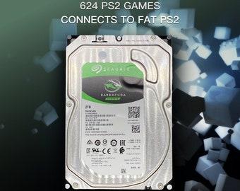 624 PS2 Games! - 2TB FreeMcBoot