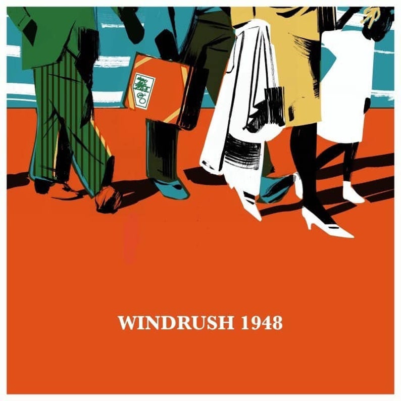 Windrush Commemoration Limited Edition Print by Artist Kim image 0