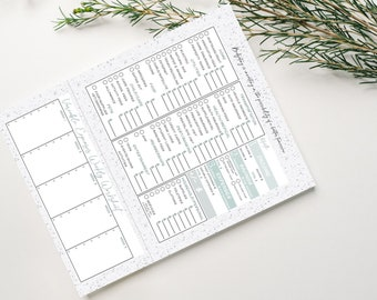 Budget Planner Pad • Expenses And Bills Tracker • Monthly Financial Worksheet • Spending Notepad • Money And Savings Organizer • Budget Tool