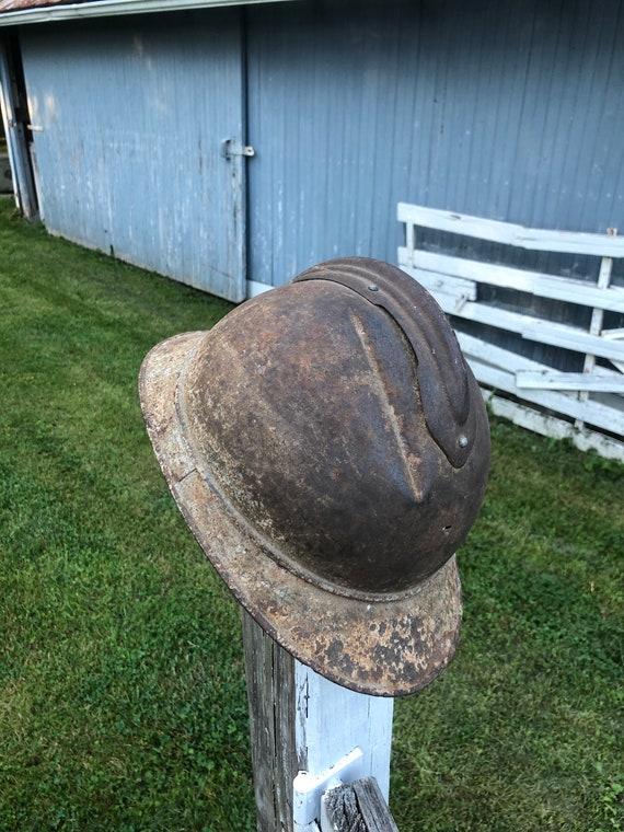 French Adrian WWI helmet