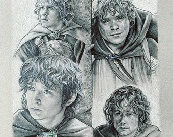 The Hobbits PRINT