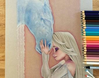 Elsa and Water Nokk Original