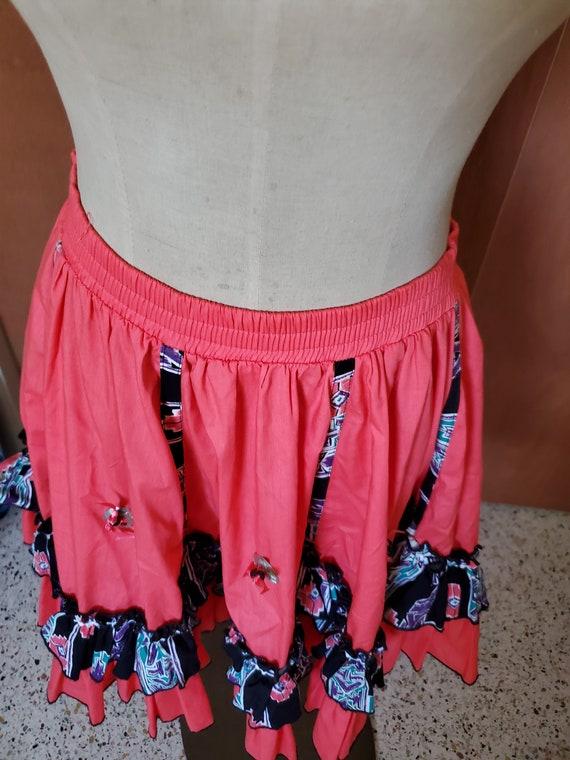 Vintage Western  cowgirl Skirt - image 2
