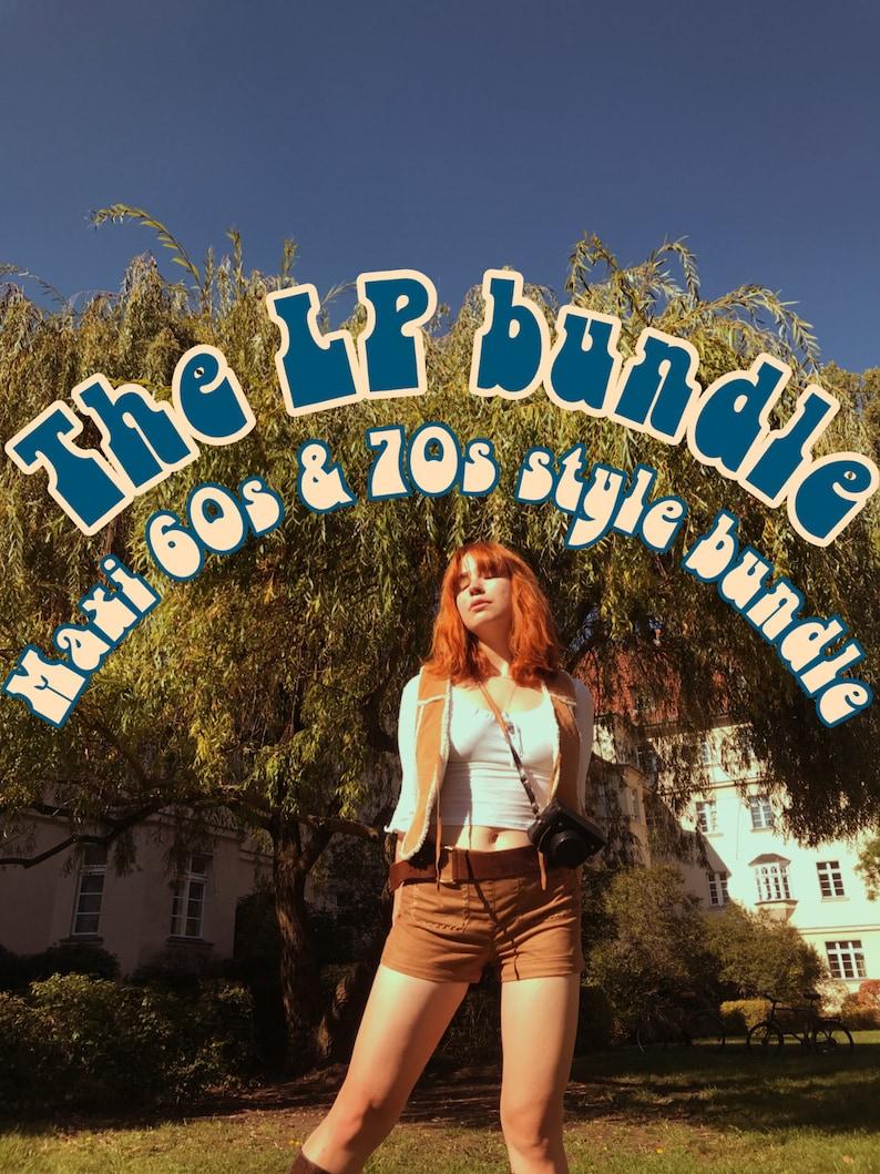 70s Outfits – 70s Style Ideas for Women 60s & 70s Vintage Style Bundle I LP Bundle $123.00 AT vintagedancer.com