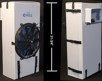 Evaporative Cooler | Swamp Cooler | Van Life | 12v Air Conditioner | Collapsible Cooler | Light  AC | Portable AC | RV Cooling | Tailgating