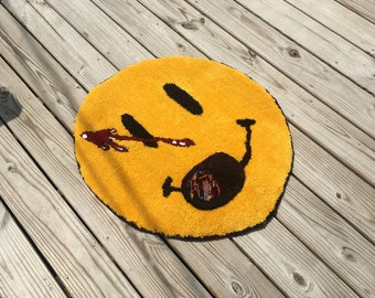 Watchmen Rug with cigar