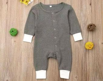 SALE 15% OFF Baby Boy Clothes Cotton Long Sleeve Romper Outfits Jumpsuit Palysuit