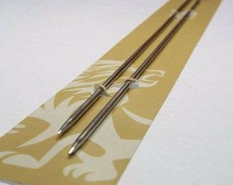 "25cm 10"" 2mm Mattress Needles Long Upholstery Skewers"
