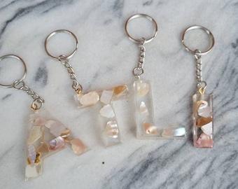 Custom Seashell Keychains