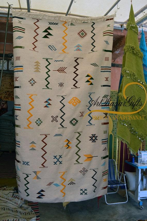 Handmade Moroccan Ourika Rug | Atlas Rug