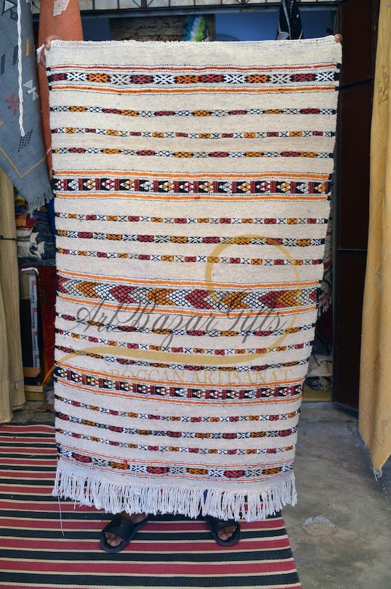 Morrocain Rug Soft Handmade Kilim