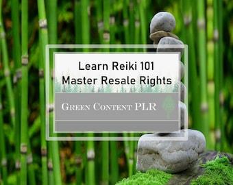 Learning Reiki 101 Rebrandable Content