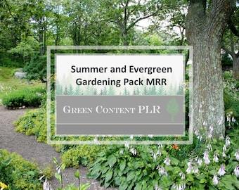 Summer and Evergreen Gardening Pack MRR