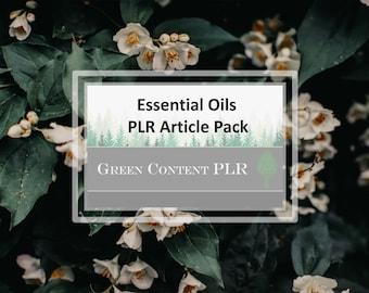 Essential Oil PLR Article Pack