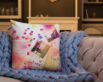 Premium Pillow Tribal Love