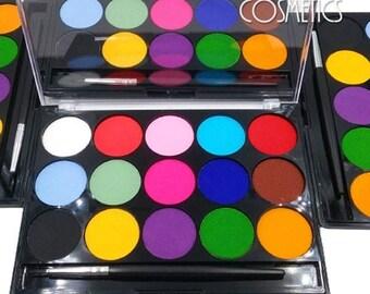 Matte Eyeliner-Water Activated Eyeliner Palette