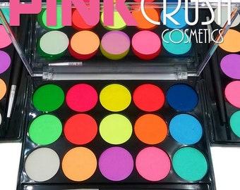 Neon Eyeliner-Water Activated Eyeliner Palette