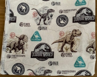 Jurassic World fat quarter