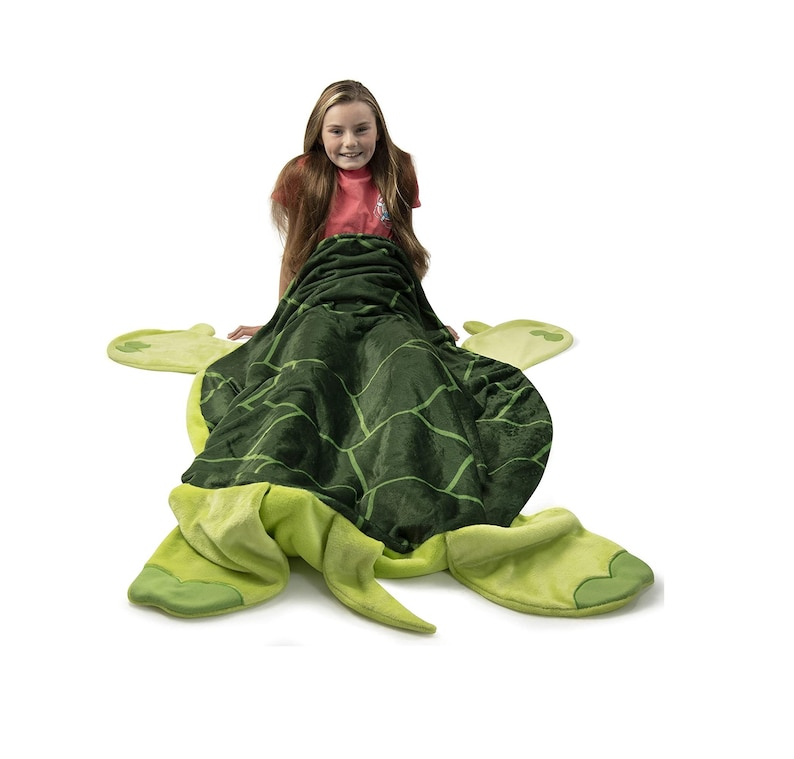 11. Turtle Blanket for Kids