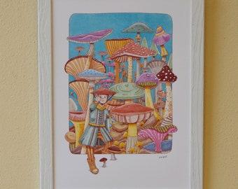 Funghi Fantastici | Stampa Fine Art