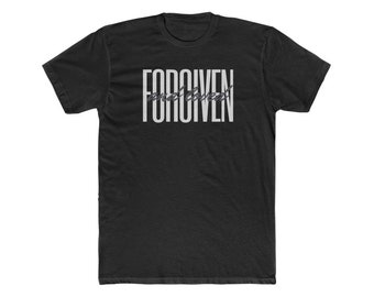 Forgiven and Loved Men's Cotton Crew Tee